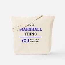 Cute Marshall Tote Bag