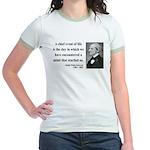 Ralph Waldo Emerson 13 Jr. Ringer T-Shirt