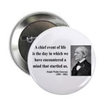 "Ralph Waldo Emerson 13 2.25"" Button (10 pack)"