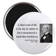 "Ralph Waldo Emerson 13 2.25"" Magnet (10 pack)"