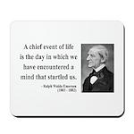 Ralph Waldo Emerson 13 Mousepad