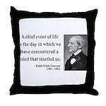 Ralph Waldo Emerson 13 Throw Pillow