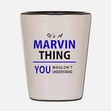 Unique Marvin Shot Glass