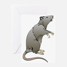 Cute Cartoon Mouse Greeting Cards