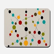 Circles and Lines Mousepad