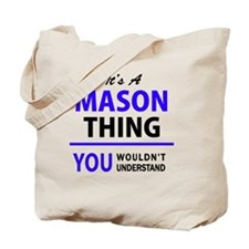 Unique Mason Tote Bag