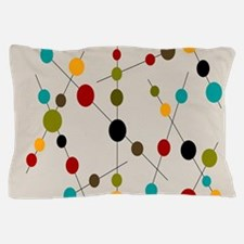 Circles and Lines Pillow Case