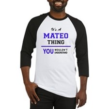 Funny Mateo Baseball Jersey