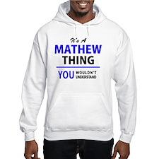 Unique Mathews Hoodie