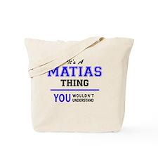 Cute Matias Tote Bag