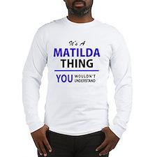 Cute Matilda Long Sleeve T-Shirt