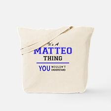 Funny Matteo Tote Bag