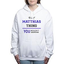 Cute Matthias Women's Hooded Sweatshirt
