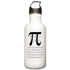 Funny Pi Water Bottle