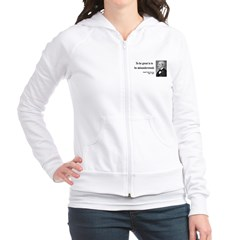 Ralph Waldo Emerson 14 Fitted Hoodie