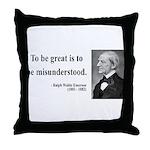 Ralph Waldo Emerson 14 Throw Pillow
