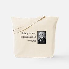 Ralph Waldo Emerson 14 Tote Bag