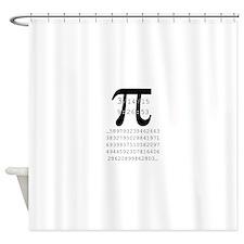Cute Pi Shower Curtain