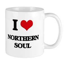 I Love NORTHERN SOUL Mugs