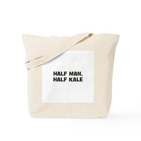 half man, half kale Tote Bag