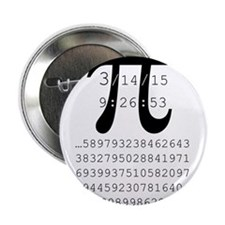 "Unique Pi 2.25"" Button"