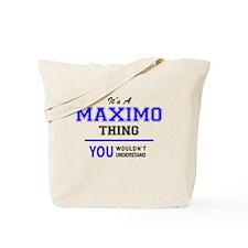 Cute Maximo Tote Bag