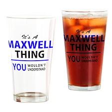 Cool Maxwells Drinking Glass