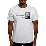 Ralph Waldo Emerson 15 Light T-Shirt