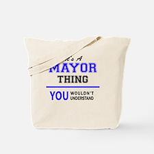 Unique Mayor Tote Bag