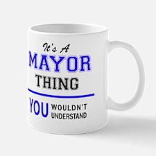 Unique Mayors Mug