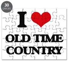 I Love OLD TIME COUNTRY Puzzle
