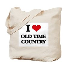I Love OLD TIME COUNTRY Tote Bag