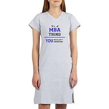 Unique Mba Women's Nightshirt