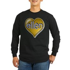 Love ellen Golden Heart T