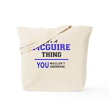 Unique Mcguire Tote Bag
