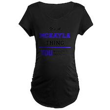 Cute Mckayla T-Shirt