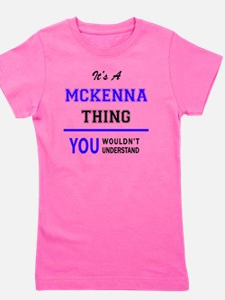 Cute Mckenna Girl's Tee
