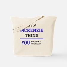 Cute Mckenzie Tote Bag