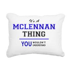 Cute Mclennan Rectangular Canvas Pillow