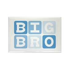 BIG BRO Rectangle Magnet (10 pack)