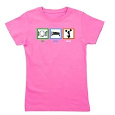 Funny School cheerleader Girl's Tee