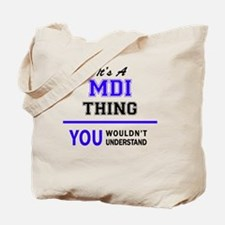 Mdi Tote Bag