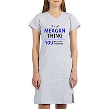 Cute Meagan Women's Nightshirt