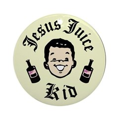 Jesus Juice Kid Ornament (Round)