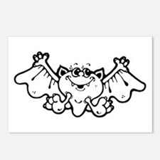 Silly Bat Postcards (Package of 8)