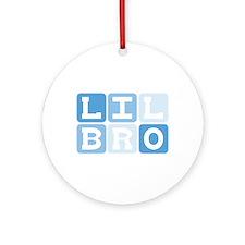 LIL BRO Ornament (Round)