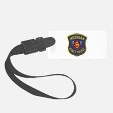 Michigan State Police Mason Luggage Tag