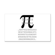 PI 2015 Rectangle Car Magnet