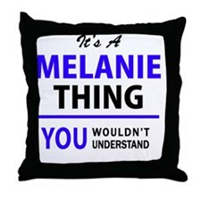 Cute Melany Throw Pillow