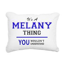 Unique Melany Rectangular Canvas Pillow